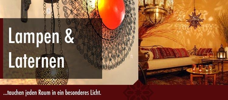 Orientalische Lampen und Laternen tauchen jeden Raum in ein besonderes Licht. Eine orientalische Lampe verleiht Ihrem Zuhause einen exotischen Hauch, eine marokkanische Leuchte inspiriert Sie durch geheimnisvolle Lichtspiele. Die filigranen Ornamente und individuelle Farbspiele unserer orientalischen Lampen machen es möglich. Unsere arabischen Lampen und orientalischen Laternen sorgen für eine zauberhafte und gemütliche Atmosphäre in der dunklen Jahreshälfte.