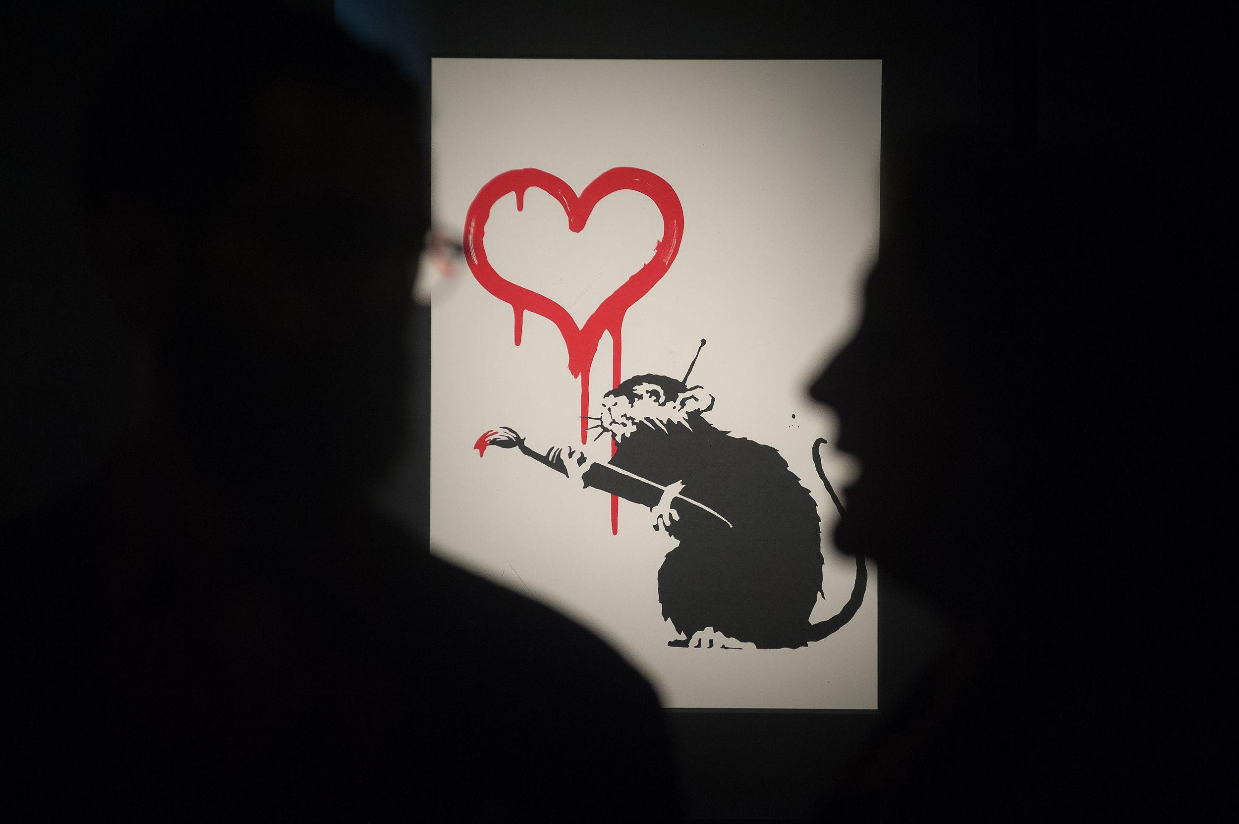 25++ Banksy game changer christies mode