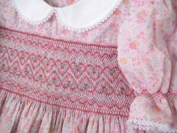 Smocked Christmas Dresses For Babies