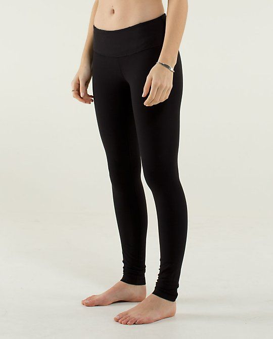 ddf61ff9bacbac Lululemon, Wunder Under Pants. The BEST leggings EVER. Thick enough that  they are