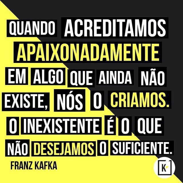 """@instabynina's photo: """"É nisso que acredito! #regram @agenciamkb #sonhos #frases #pensamentos #socialmedia #criatividade #redesocial #mídiasocial #design #agênciaMKB"""""""