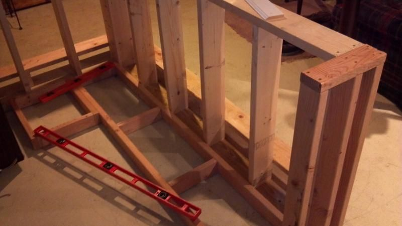 Basement bar build home brew forums dry bar for How to build a bar in your basement