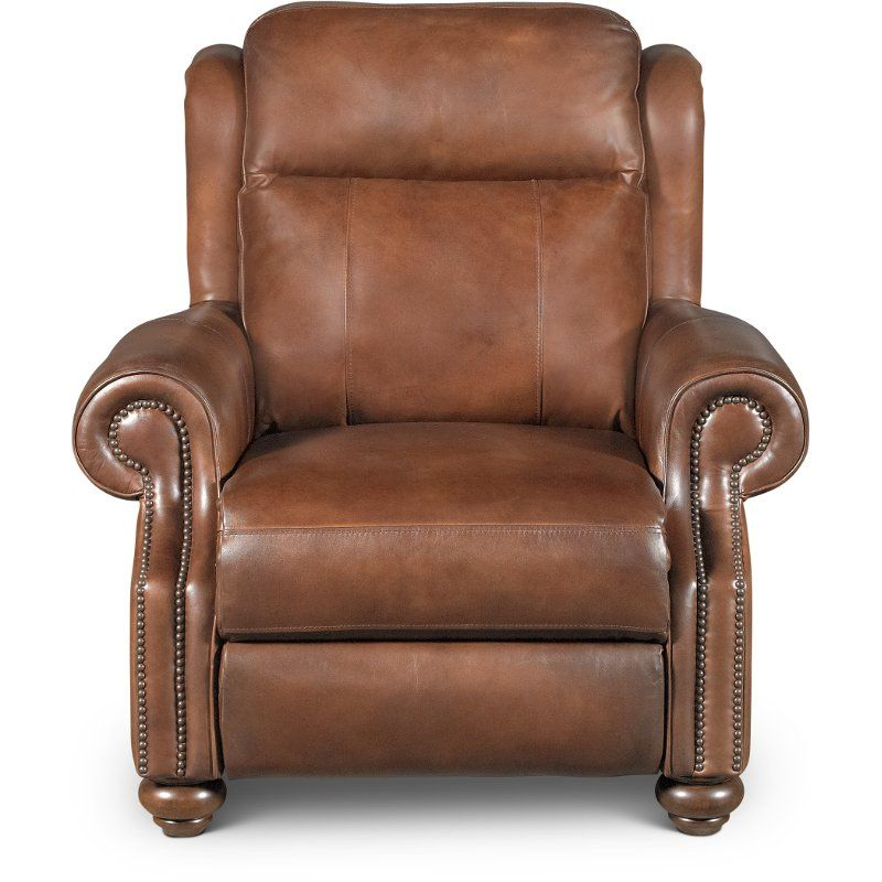 Astounding Coffee Bean Brown Leather Power Recliner Hancock In 2019 Inzonedesignstudio Interior Chair Design Inzonedesignstudiocom