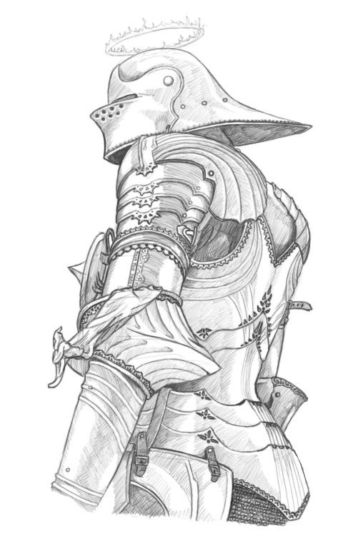 We posting knights? | Knight drawing, Character design ...