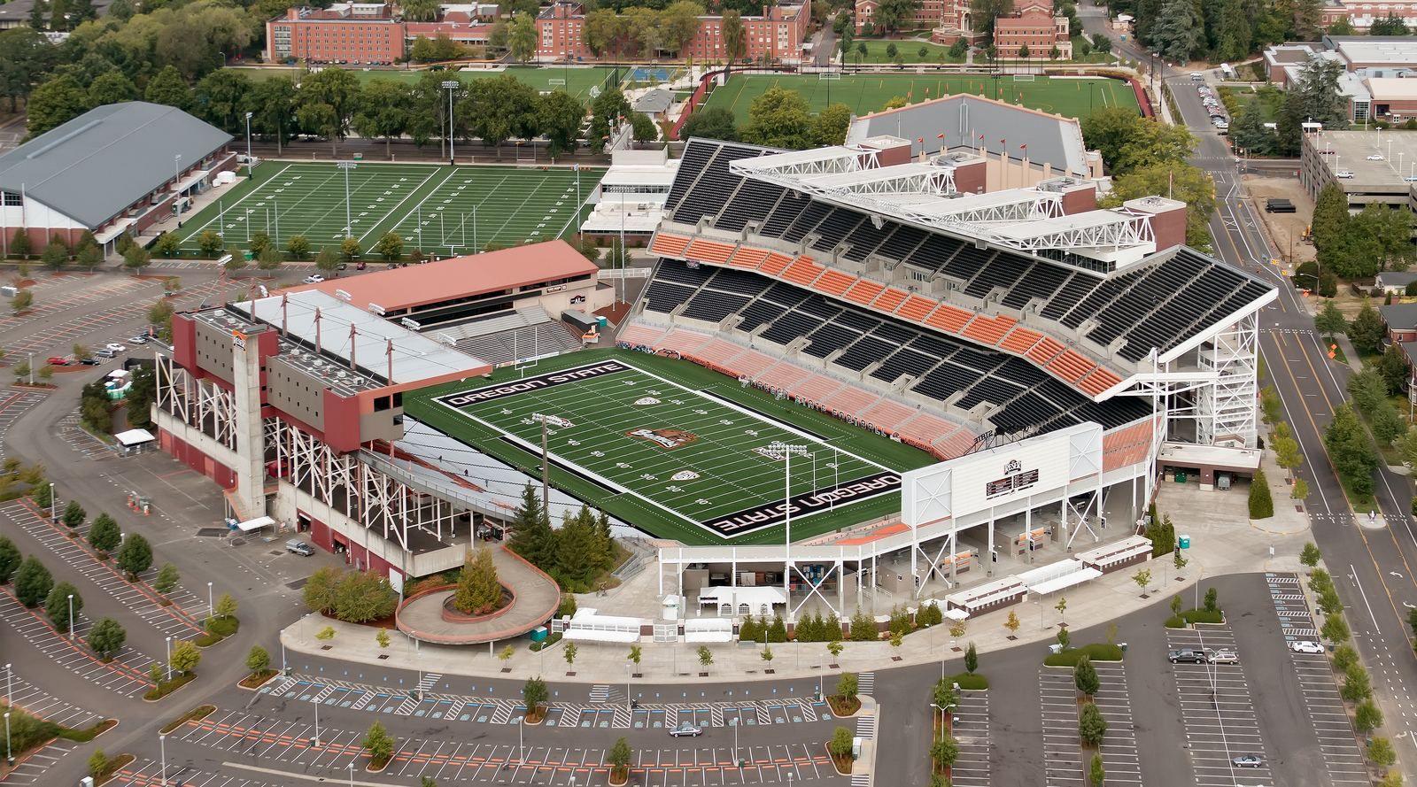 Reser Stadium Oregon State University Corvallis Or Oregon State University Oregon State Beavers Oregon State