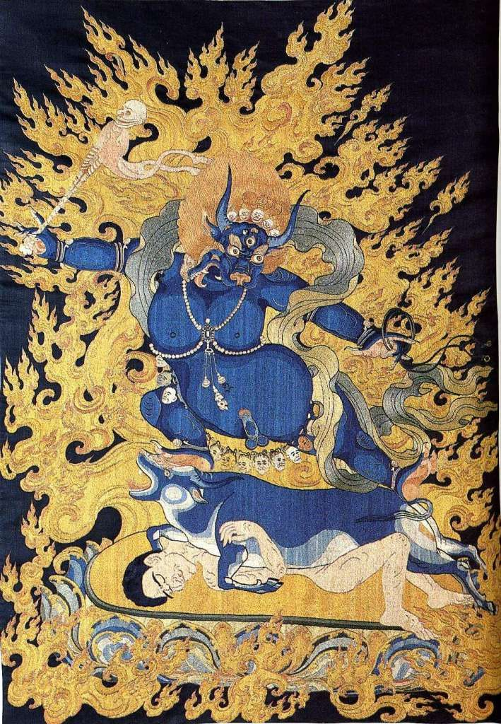 British Museum Top 20 Buddhism 14 Yama Thangka 14 Yama Tangka
