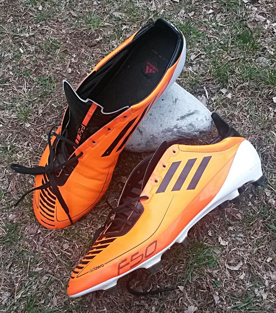 Adidas f50 adizero orange soccer cleats us sz 12 adidas