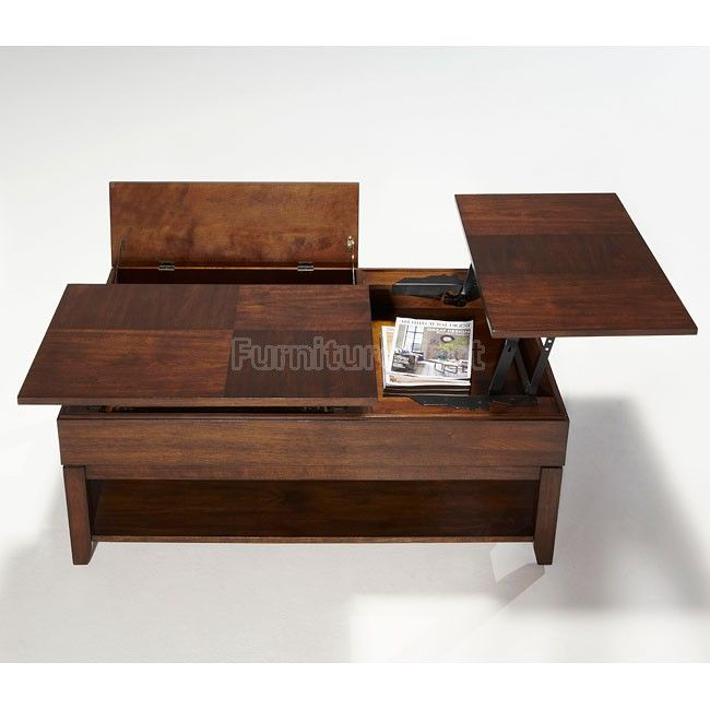 Double Lift Top Coffee Table 6