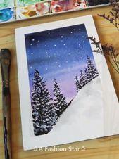 14 Facile Et Belle Peinture A L Aquarelle Idees De Peinture A L