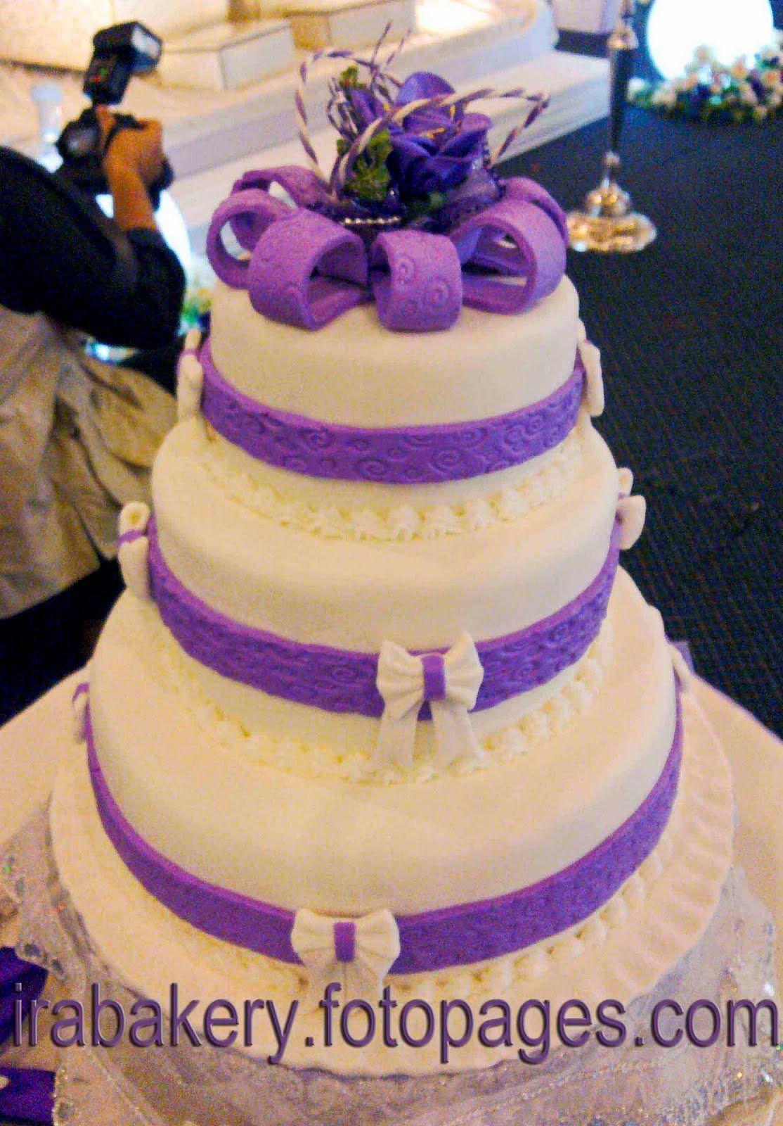 Purple Wedding Cakes Deco Cakes Cupcakes Cheese Cake Kek Lapis