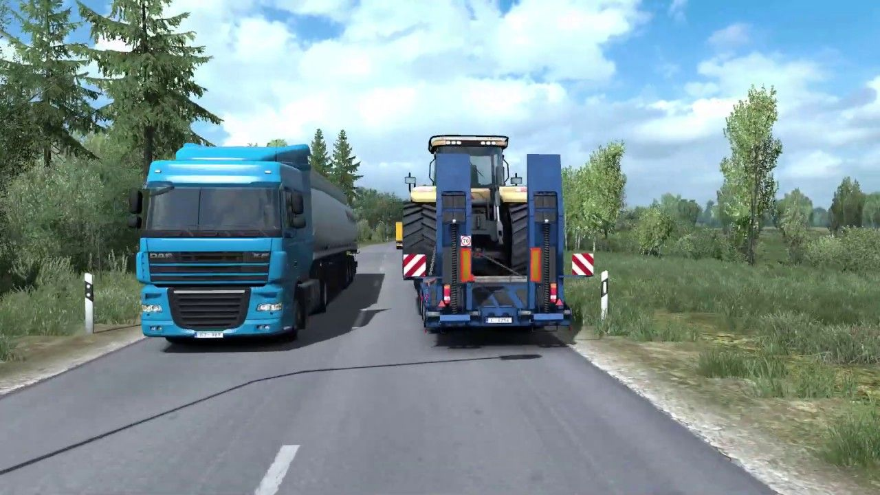Euro Truck Simulator 2 promods 2 32 & Beyond The Baltic Sea