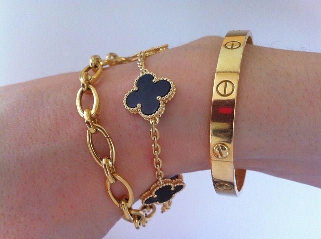8a8043896 Van Cleef, Cartier, etc..Layering | Accessories in 2019 | Jewelry ...
