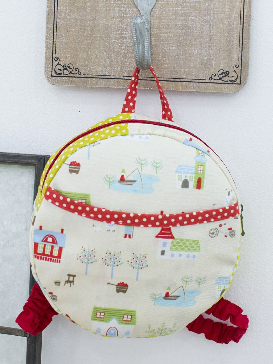 Baby Cute Backpack PDF Pattern | Manualidades | Pinterest | Mochilas ...