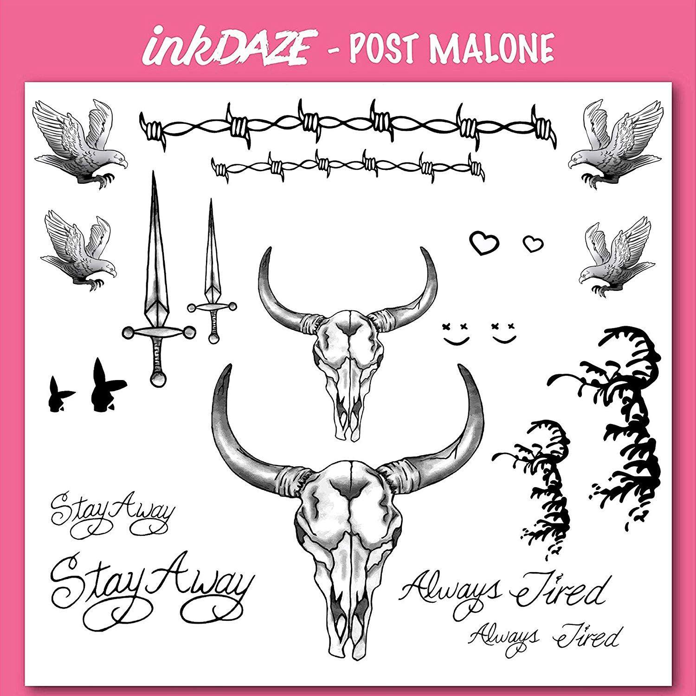ID Post Malone image by Ink Daze Tattoo set, Post