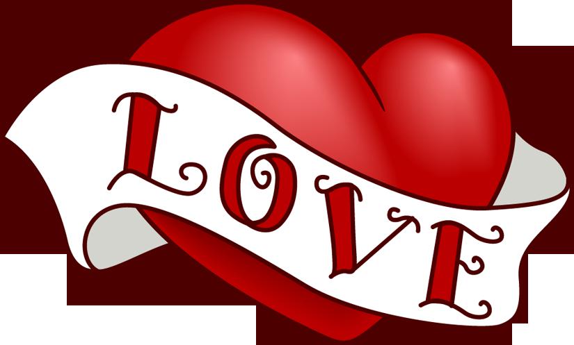 vintage heart clip art design for valentine s day clip art rh pinterest com love heart clipart transparent background love heart clipart transparent background