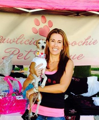 Jaime Mcknight Founder Of Pawlicious Poochie Pet Rescue Non