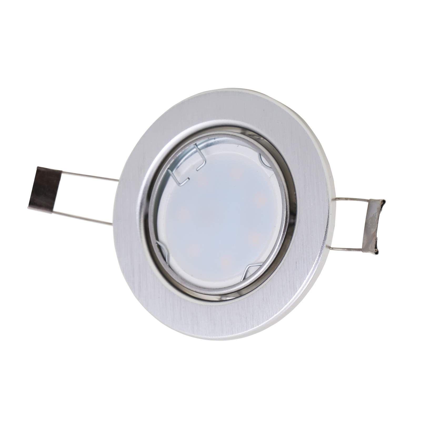 Moderner Einbaustrahler 7221 039 Von Briloner Grau Einbauleuchten Led Und Led Einbaustrahler