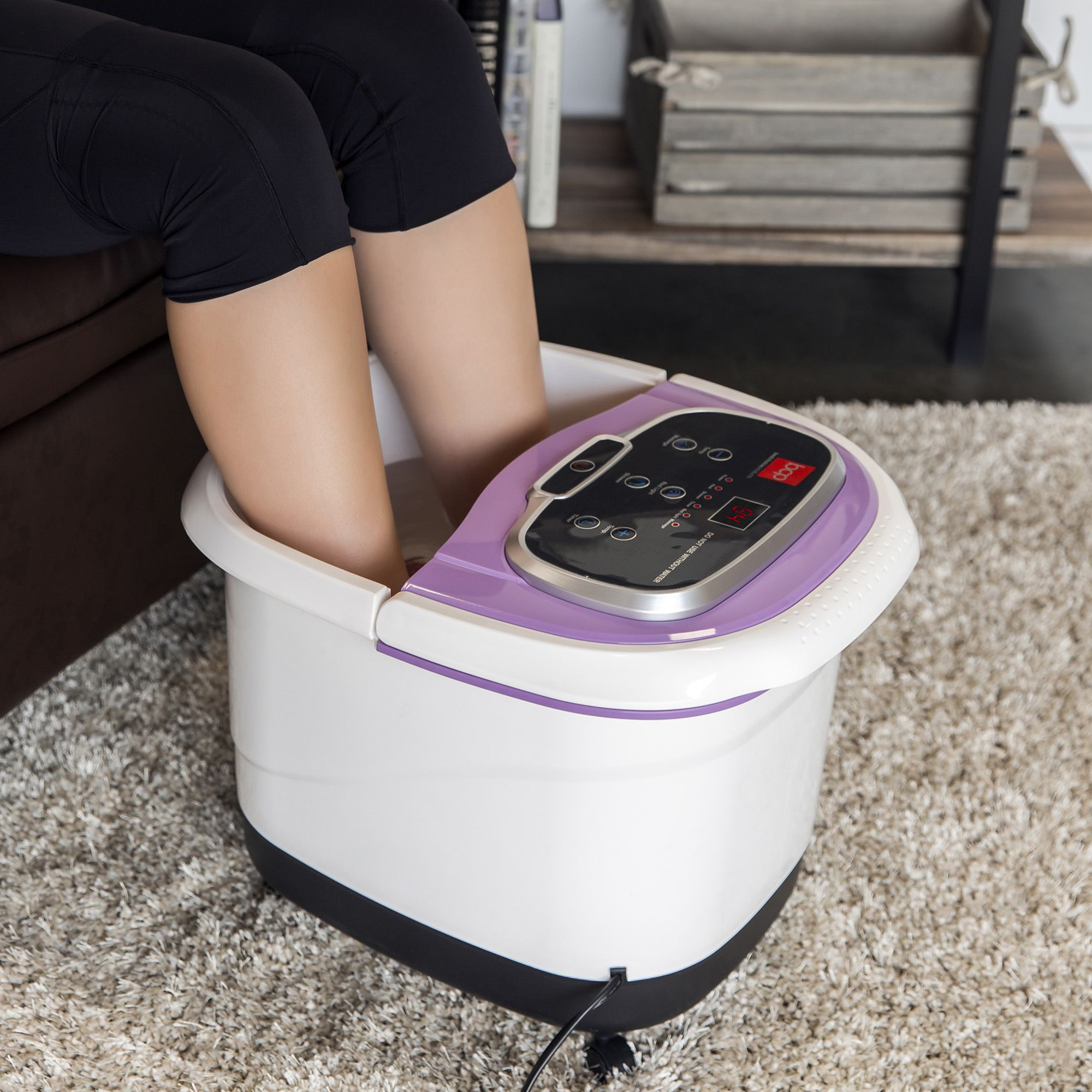 Best choice products portable heated foot bath spa w