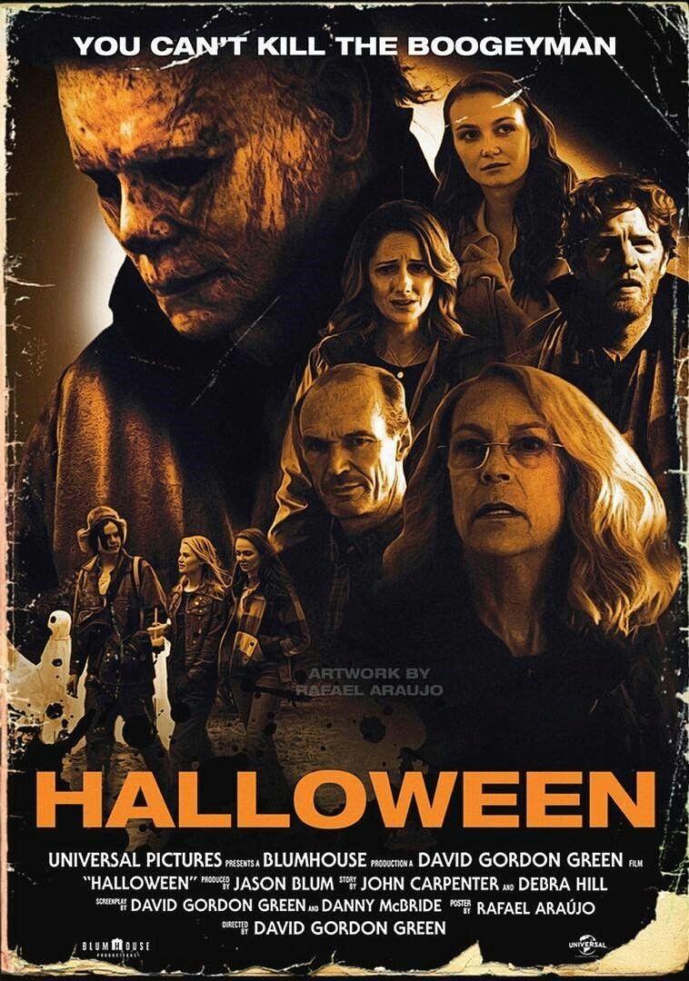 Halloween (2018) Scary movies, John carpenter halloween