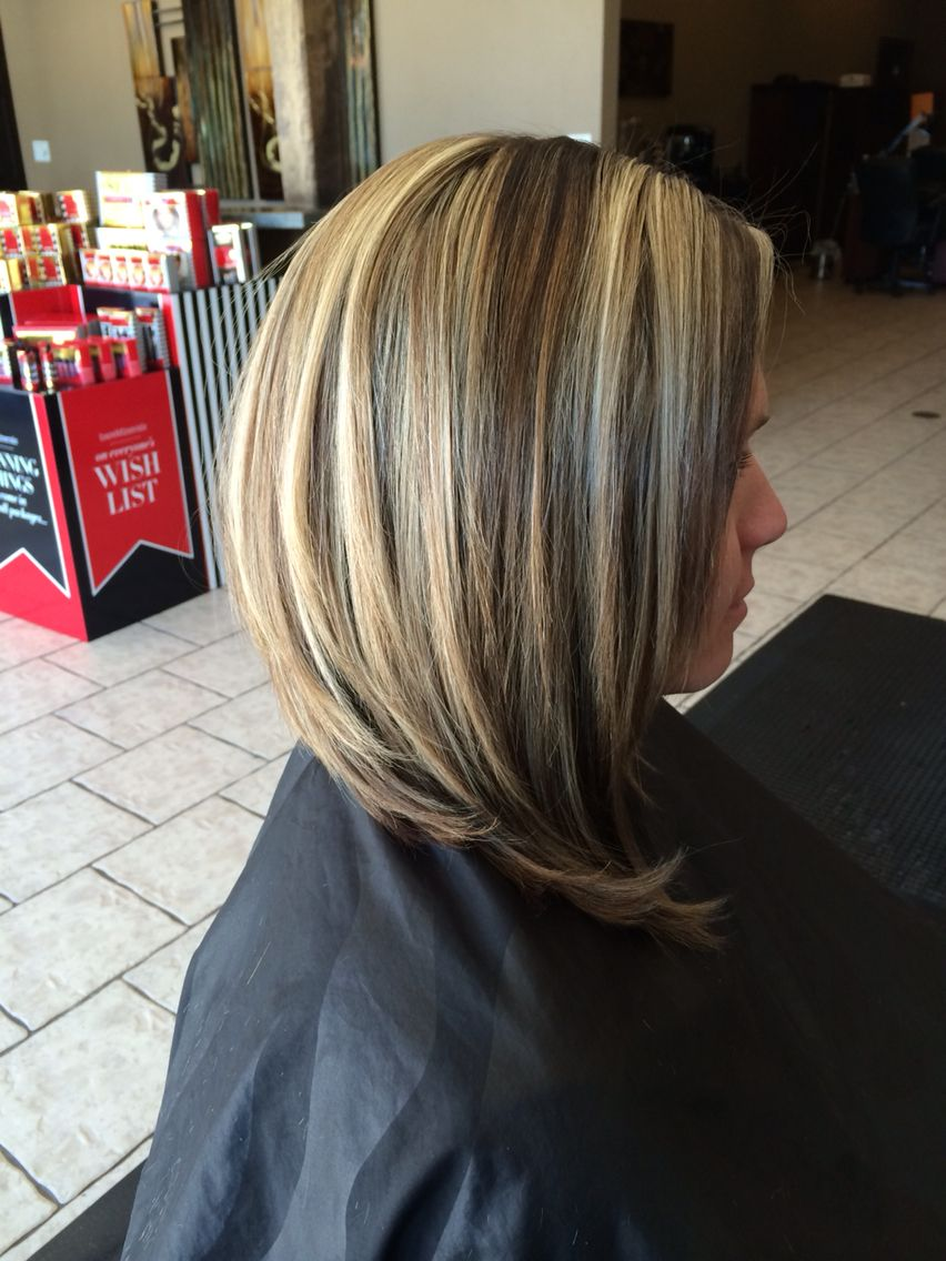 swing bob with dimensional color   hairstyles   pinterest   swing