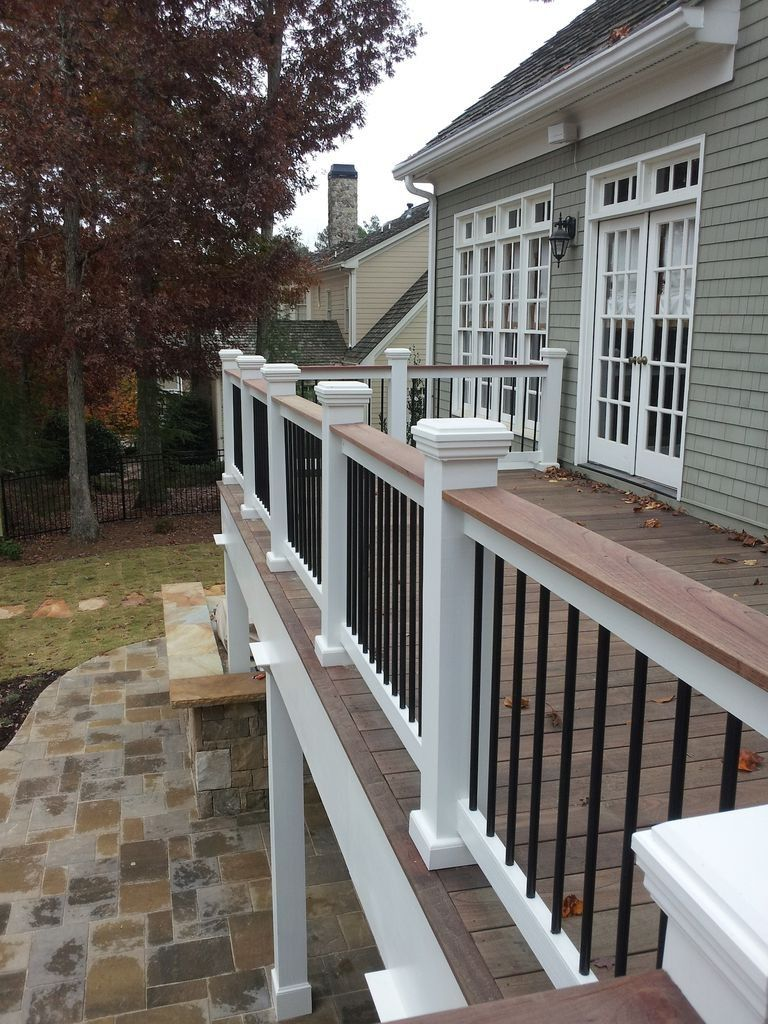 45 Inspiring Second Floor Deck Design Ideas Deck Railing Design