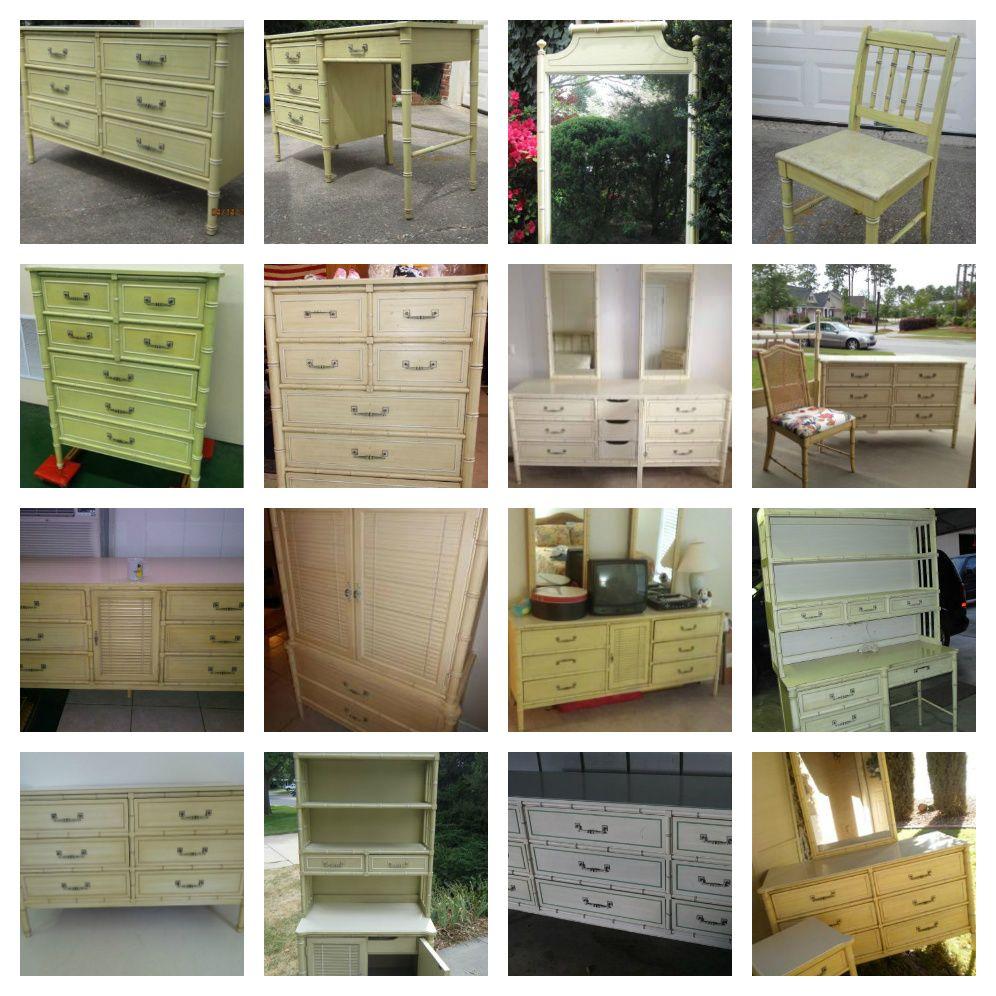 Henry Link Bali Hai faux bamboo furniture craigslist round up