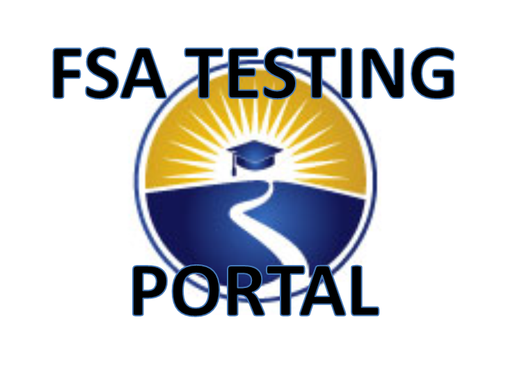 The FSA Portal contains test item specifications, practice