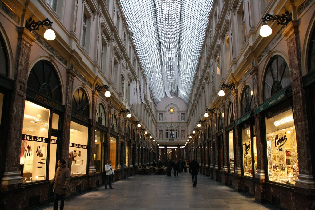 Belgique Bruxelles Galeries Royales Saint Hubert Belgium Saint Hubert Places To See