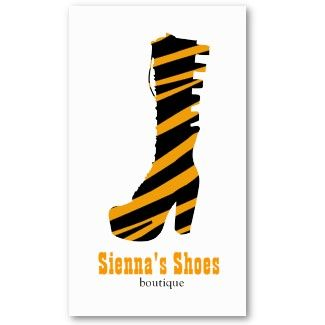 Shoes theme birthday invitation, business card and flyers