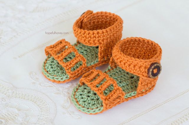 Crochet Baby Strap Flip Flop Sandals Page 2 Of 2 Baby Sandals