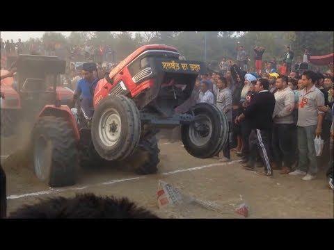 Bullet Vs Tractor Stunt In Punjab – Punjabi Viral Videos | Att