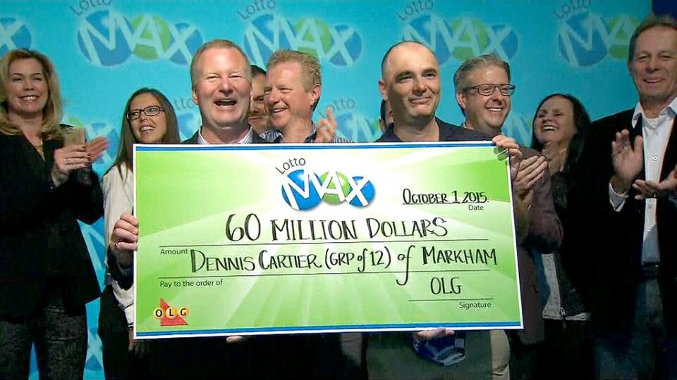 The odds of winning tonight's Lotto MAX $60M is 1 in