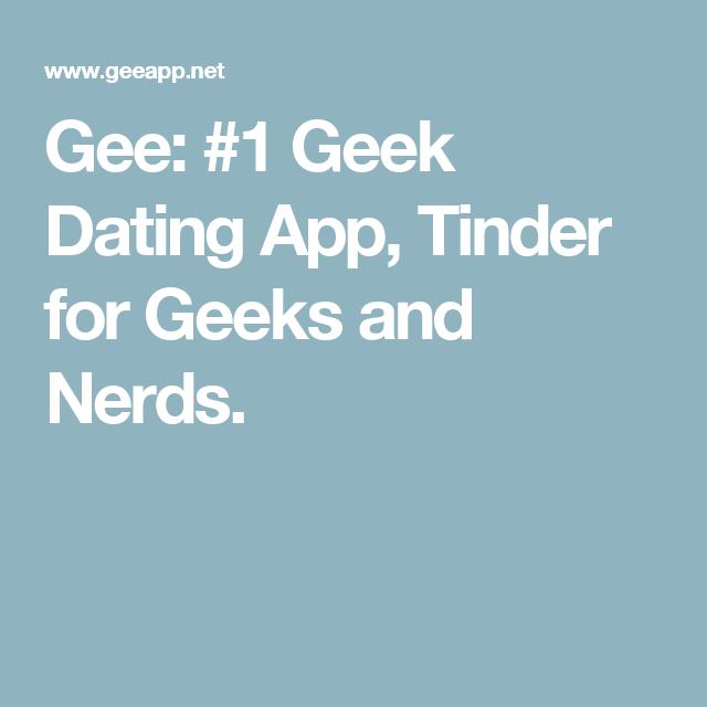 One geek to geek dating