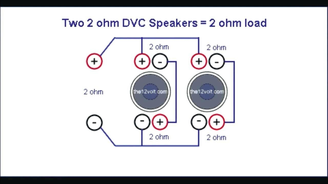 2 Ohm Wiring Diagram For Subwoofers