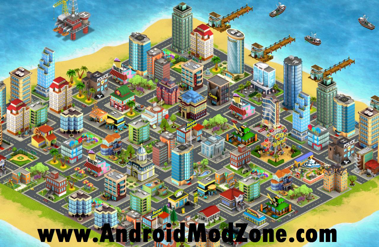 Download City Island 3 Building Sim V1 0 7 Mod Apk Unlimited Money