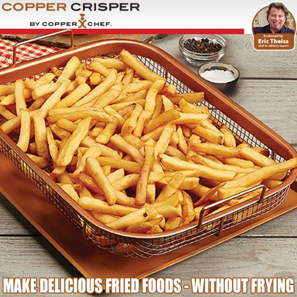 Copper Crisper Copper Crisper Recipe Copper Cooking Pan
