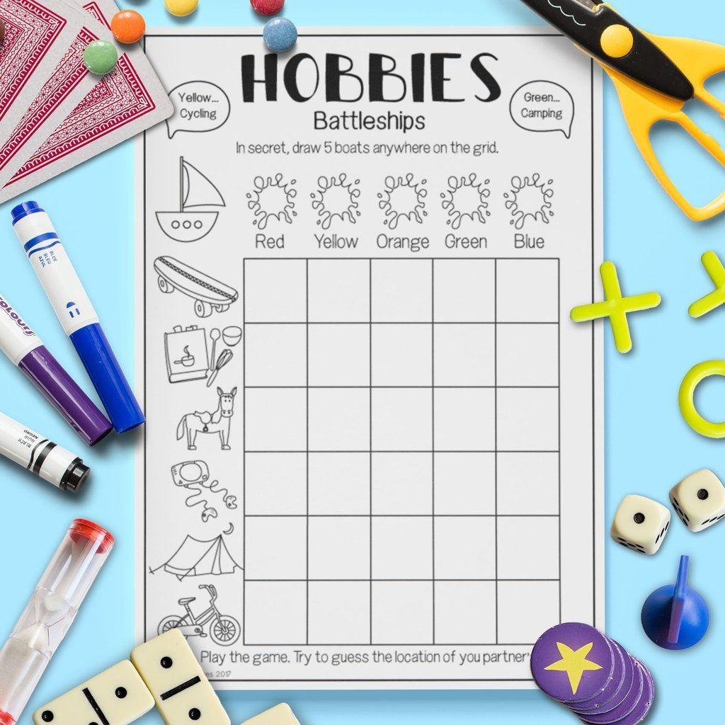 Hobbies Battleships Game