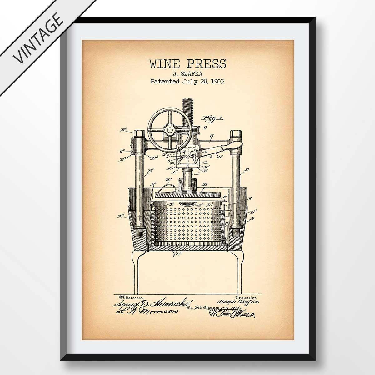 1883 Quoit Patent Art Print Vintage Game Blueprint Art Poster