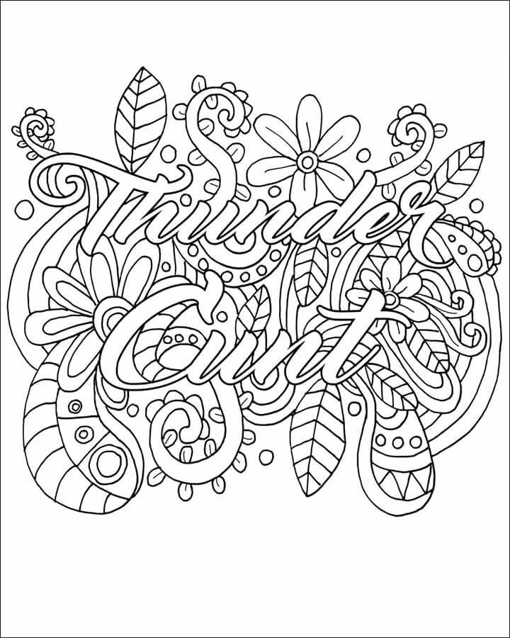 vulgar coloring pages Thunder cunt   I have someone in mind. | Vulgar Coloring Pages  vulgar coloring pages