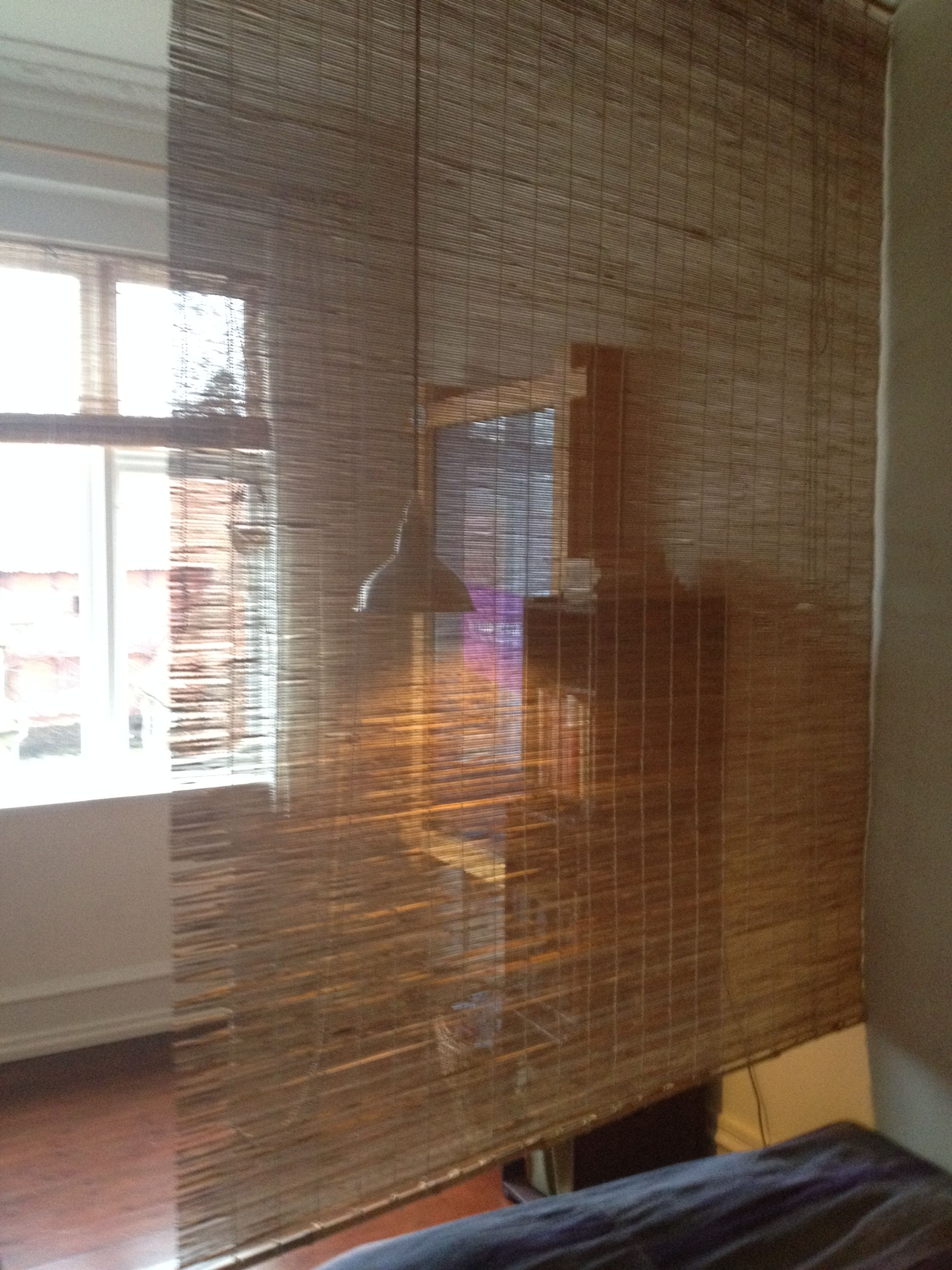 Use Bamboo Blinds As A Room Divider Blinds Blinds Design