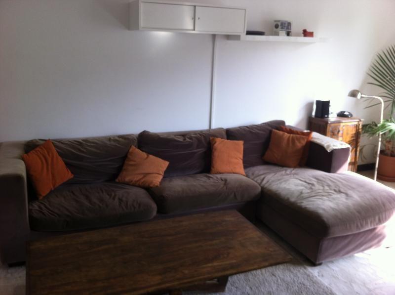 Dubizzle Dubai | Sofas, Futons, U0026 Lounges: Chocalate Coloured Habitat Sofa.  Ethnic StyleGarden ...