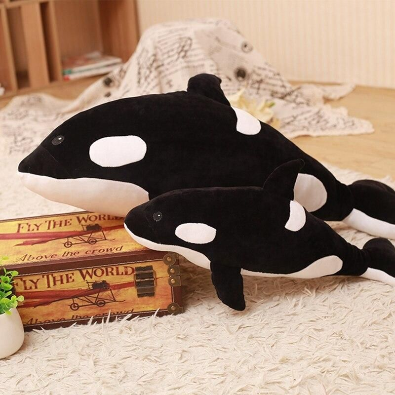 Big Orca Whale Stuffed Animal Plush