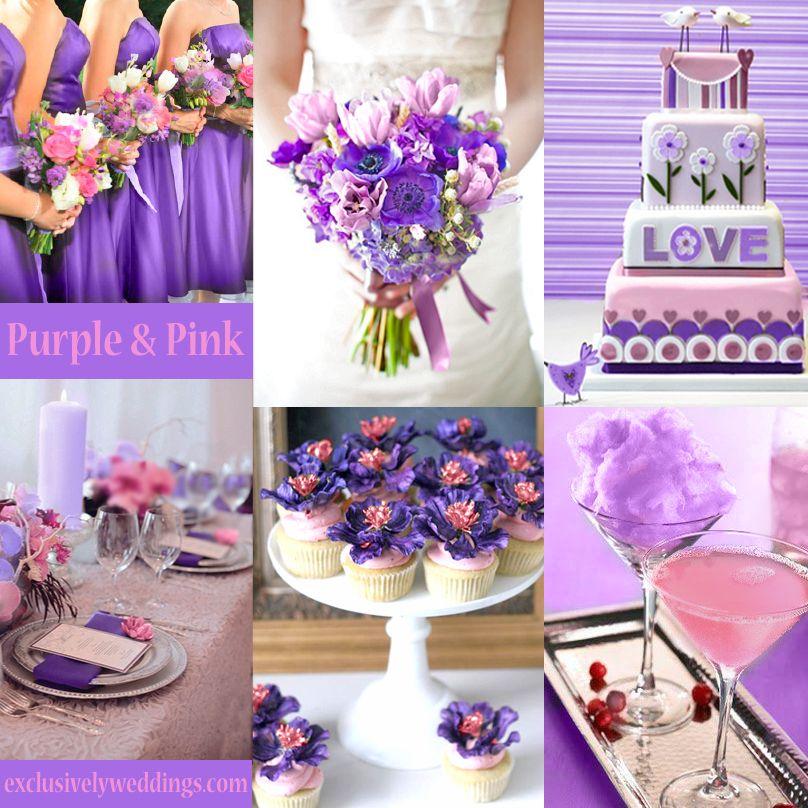 Pink Wedding Color Twelve Perfect Combinations Pink Wedding