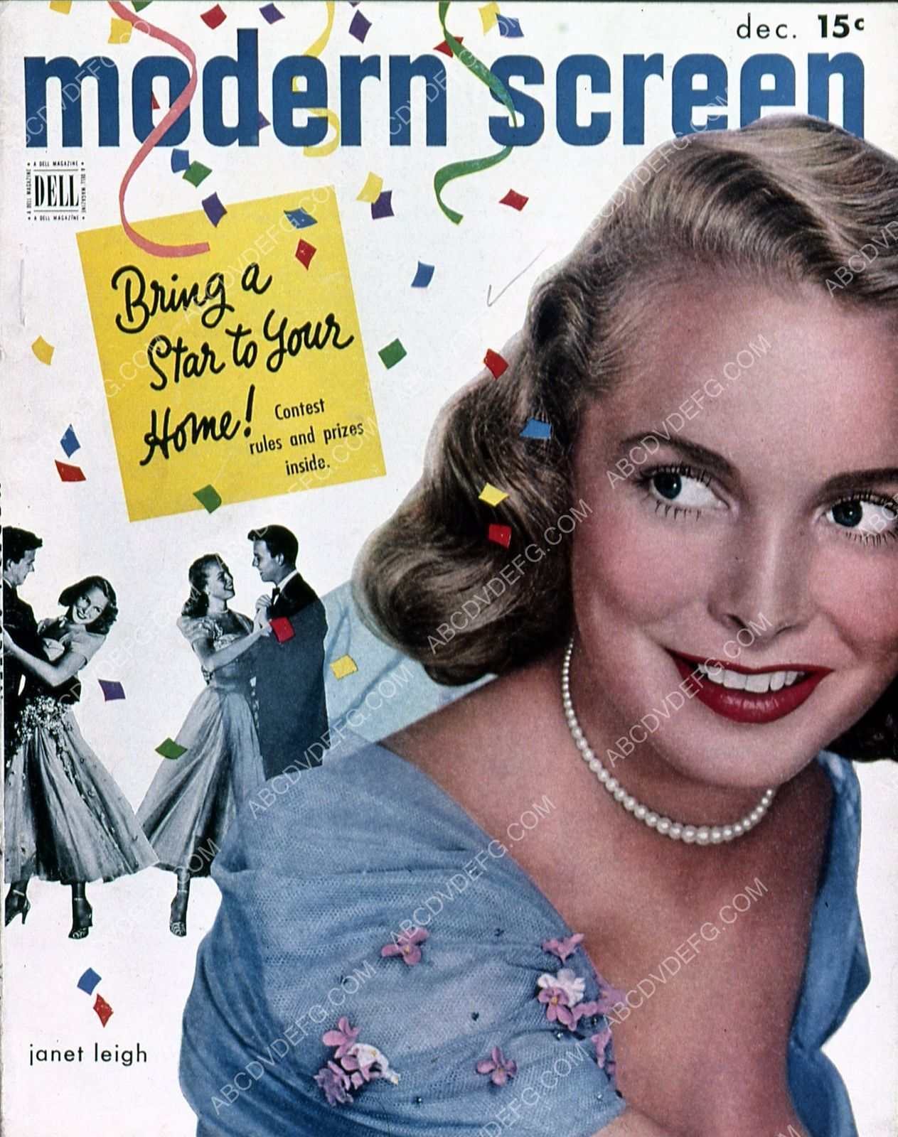 Janet Leigh Modern Screen magazine cover 35m-5904
