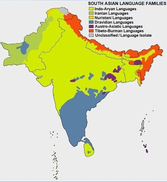 india language maps Pinterest Language