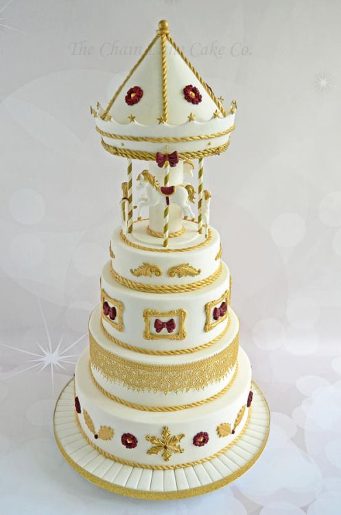 Christmas Carousel Cake by The Chain Lane Cake Co CAKES
