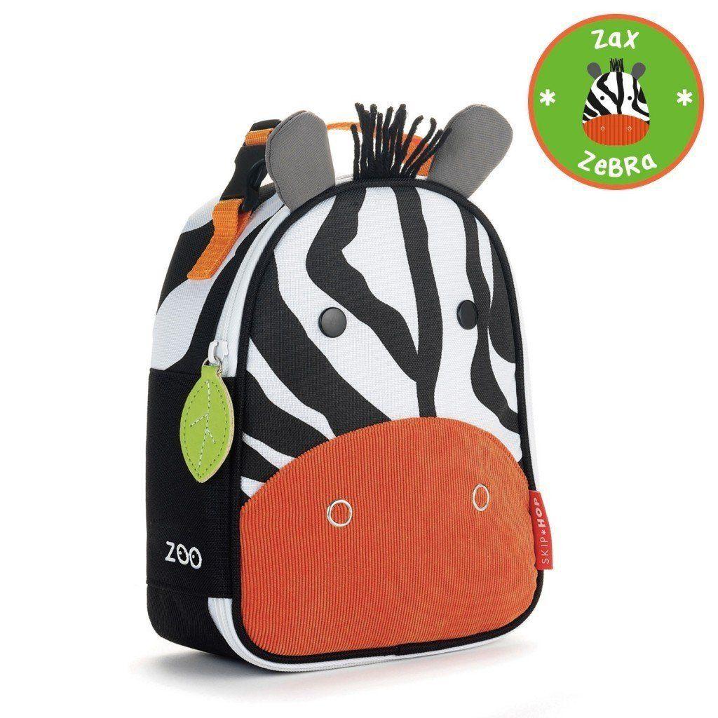 حافظة طعام للأطفال عازلة للحرارة على أشكال حيوانات مرحة Kids Lunch Bags Skip Hop Zoo Backpack Lunch Bag