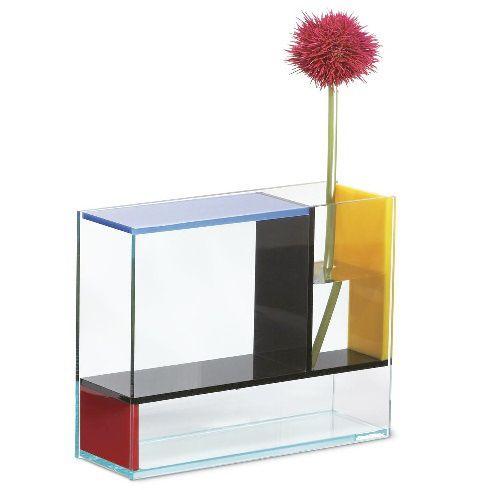 Ten of the strangest piet mondrian themed items you 39 ll for Mondrian vase
