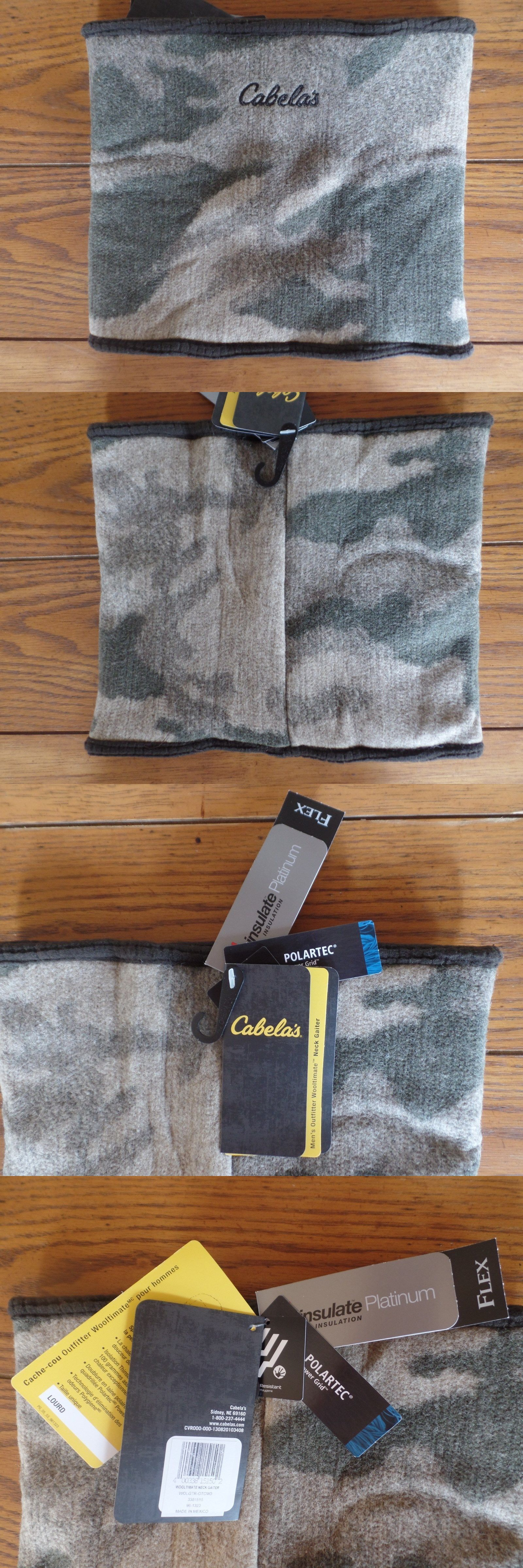 8ddc2459211 Clothing shoes and accessories cabela wooltimate neck gaiter buy it now  only on ebay clothing shoes