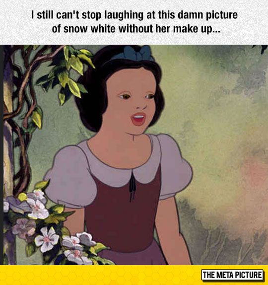 Princess With No Makeup Disney Princesses Without Best Funny Pictures Images